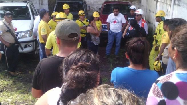 Cuerpos de socorro buscan a turista perdido en el Volcán Chaparrastique