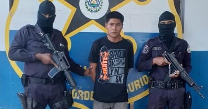 Capturan a cabecilla de una pandilla que operaba en Ahuachapán