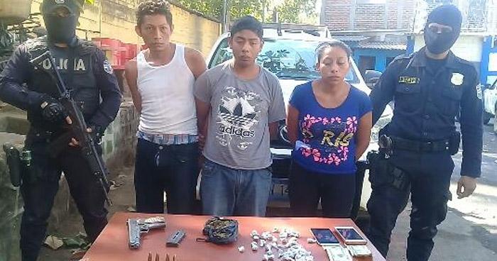 Capturan a palabrero con varias porciones de droga, un arma y otro ilícitos en Sonsonate