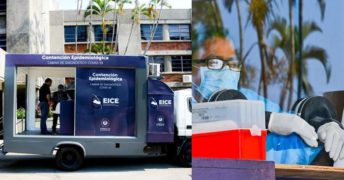 Ministerio de Salud recibe dos cabinas móviles para tomar pruebas de COVID-19