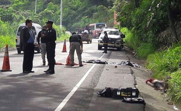 Encuentran cadáver envuelto en sabanas en carretera a Zacatecoluca