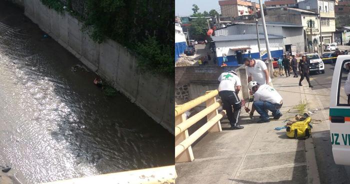 Matan a dueño de una colchonería y lanzan su cadáver en el Río Acelhuate, San Salvador