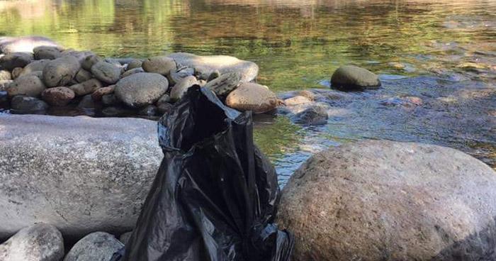Encuentran el cuerpo sin vida de un niño recien nacido en río de Anamorós, La Unión