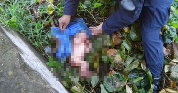 Encuentran cuerpo de un bebé, recién nacido, en zona de Santa Rosa Guachipilin, Santa Ana