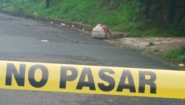 Encuentran cadáver embolsado y dentro de un saco en la colonia Antekirta de Soyapango