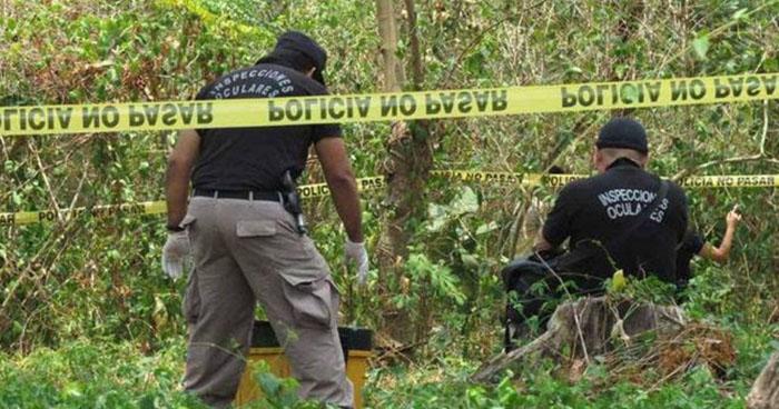 Encuentran cadáver semienterrado en predio de San Matías, La Libertad