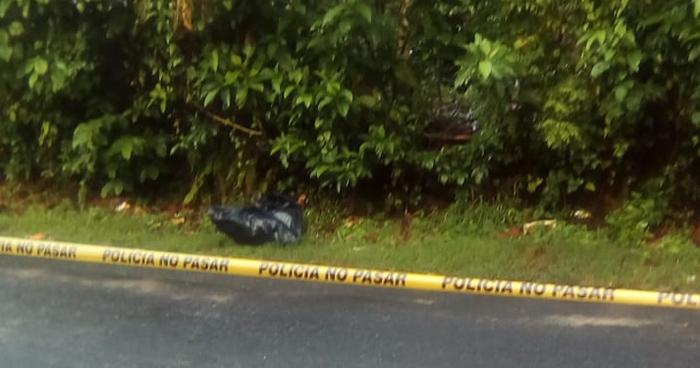 Encuentran el cadáver de un hombre amarrado dentro de una bolsa en San Martin