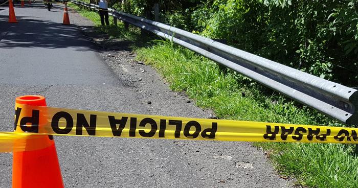 Hallan cadáver de un joven en carretera Litoral, en La Paz