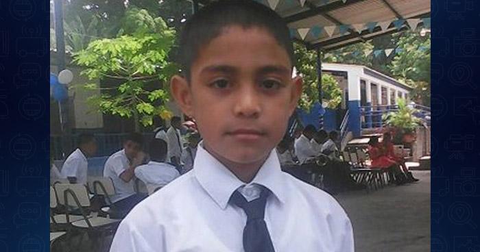 Hallan el cadáver del niño de 10 años, que desapareció cuando salió a comprar pan en Santiago Nonualco