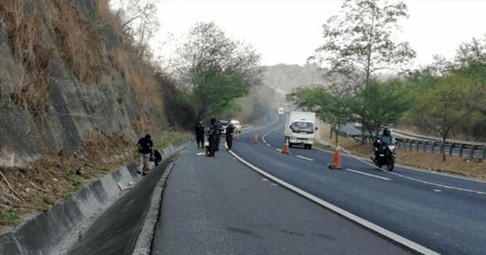 Hallan cadáver de un hombre sobre carretera de Oro, Ciudad Delgado
