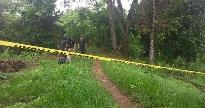 Asesinan a un pandillero y abandonan su cadáver en una quebrada en Morazán