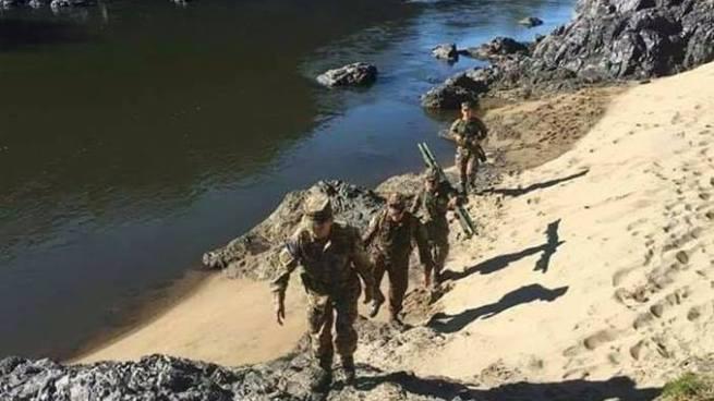 Buscan cadáver de un soldado que se ahogó en el río Lempa