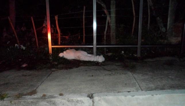 Encuentran cadáver ensabanado de una mujer en el bulevar Luis Poma, Antiguo Cuscatlán