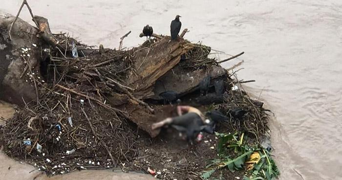 Hallan cadáver de un hombre en río Grande de San Miguel