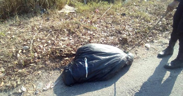 Hallan cadáver envuelto en plástico en colonia Altos del Cerro de Soyapango