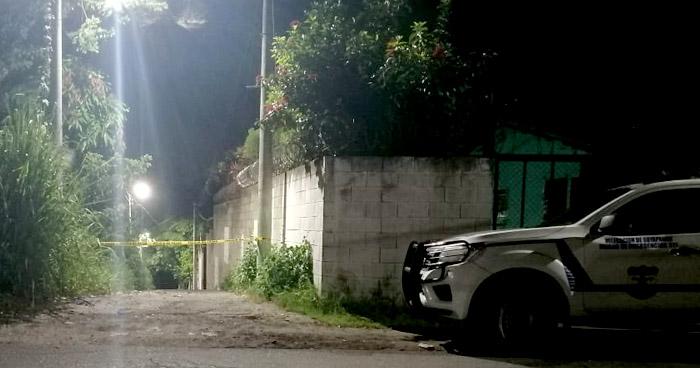 Pandilleros abandonan cadáver en calle Antigua a Tonacatepeque