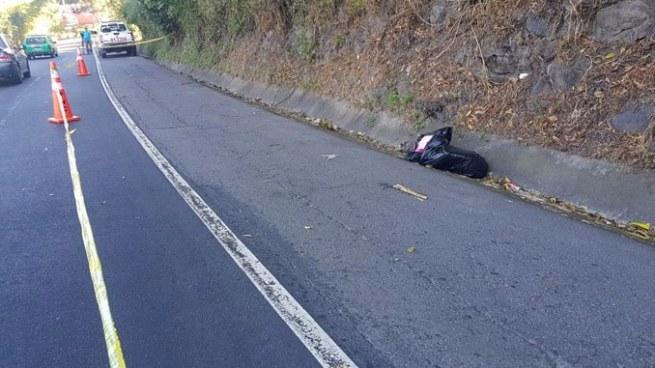 Hallan cadáver dentro de una bolsa y envuelto en sábanas en carretera Troncal del Norte