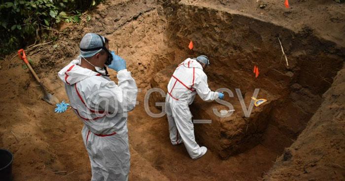 Fiscalía confirma hallazgo de 5 cuerpos en finca Los Reyes de Nahuizalco