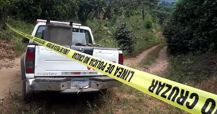 Cadáveres de los familiares del preparador físico del Sonsonate F.C. podría estar en finca de Nahuizalco