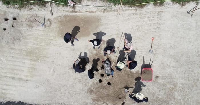 Realizan recuperación de cuerpos enterrados en la zona de Vista al Lago