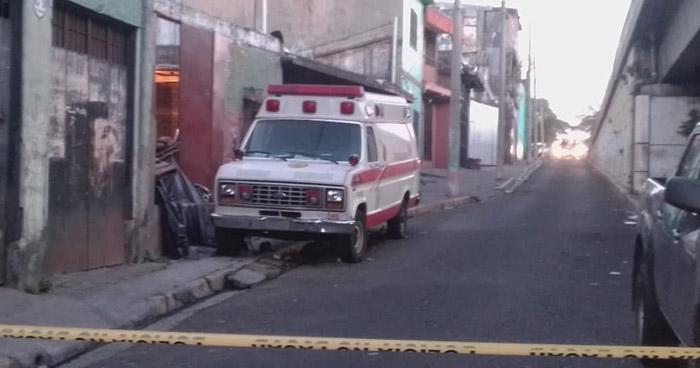 Hombre herido de bala muere en instalaciones de Camilleros