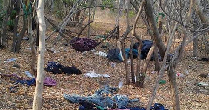 Descubren campamento de pandilleros en zona rural de Conchagua, La Unión