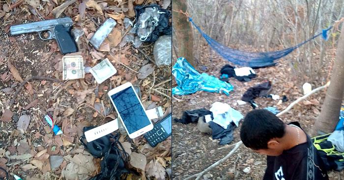 Pandillero se mantenía en un campamento clandestino en zona rural de San Miguel