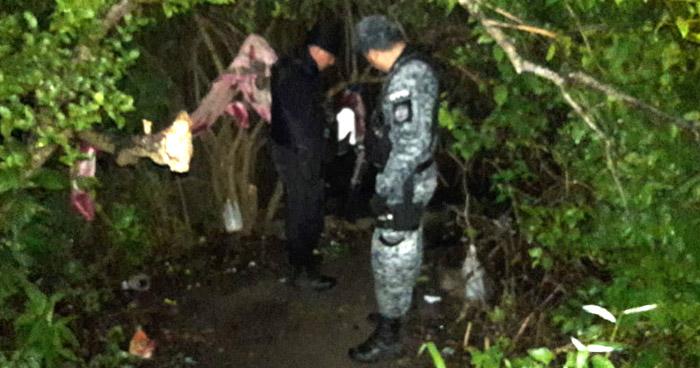 Desmantelan campamento de pandilleros en Chalatenango