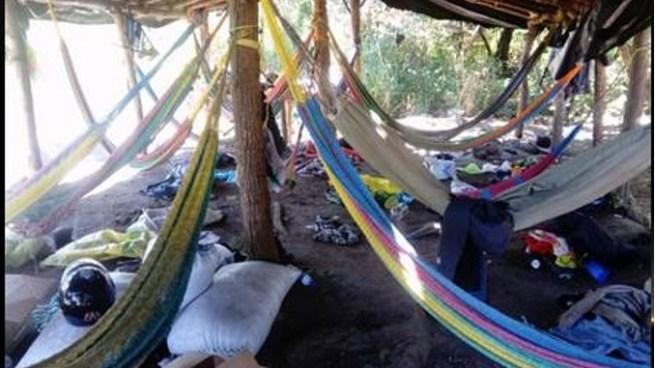 PNC desmantela campamento en San Vicente y lograr capturar a 12 pandilleros