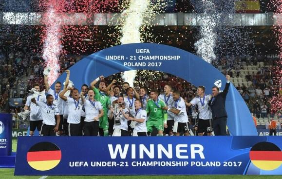 Alemania Campeón del Europeo Sub-21