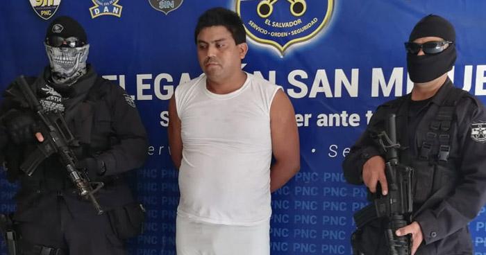 Capturado por un homicidio cometido anoche en Sesori, San Miguel