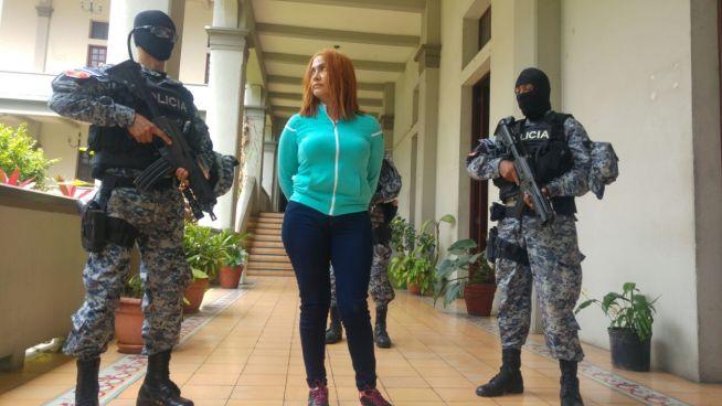 """PNC captura a """"La Patrona"""" en Ahuachapán"""