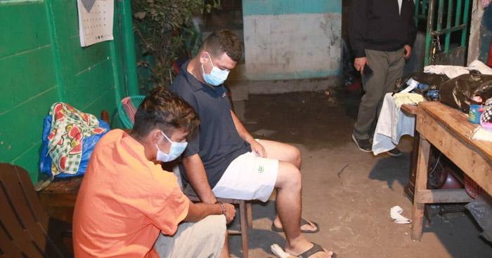 Capturan a miembros de la MS durante operativo en La Paz