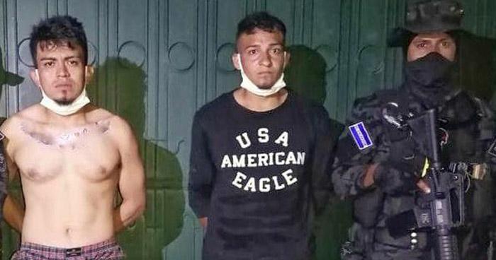 Pandilleros capturados cuando distribuían droga en Aguilares