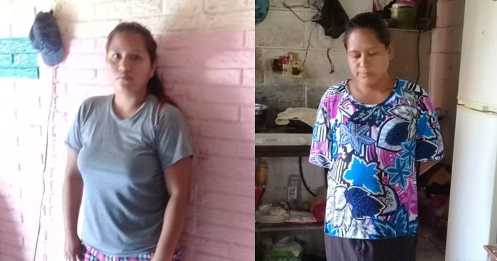 Capturadas por usurpar viviendas y robar luz y agua potable en Tonacatepeque