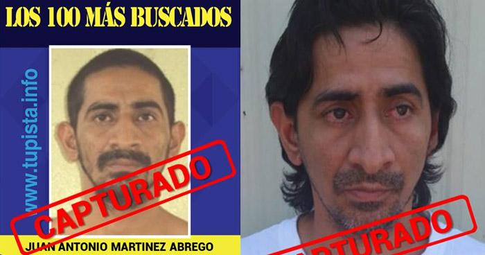 Deportan de Estados Unidos a uno de los 100 Más Buscados, buscado por homicidio