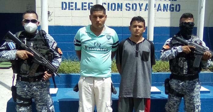 Capturan a pandilleros que delinquían en Soyapango