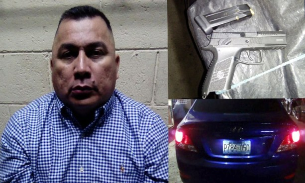 Capturan a hombre que conducía con 464° de alcohol en la sangre y portaba un arma de fuego