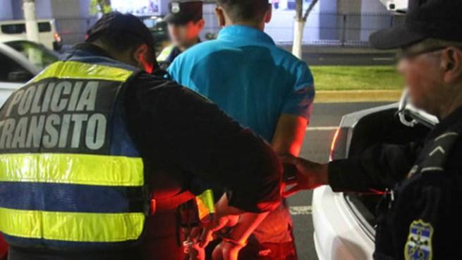 Detienen a conductor con 806 grados de alcohol en su sangre en San Jacinto