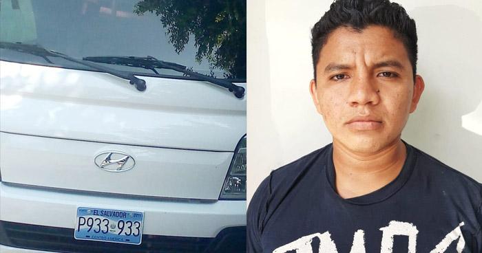 Detenido cuando recogía dinero de extorsión en San Salvador