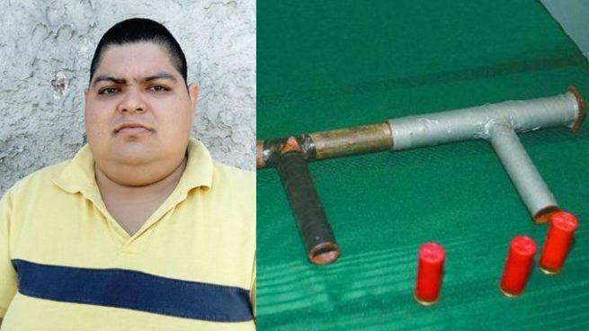 Capturan en San Salvador a sujeto por fabricar armas artesanales