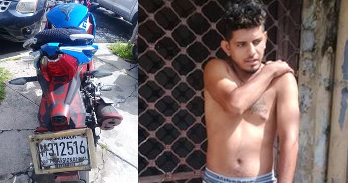 Capturan a sujeto conduciendo una motocicleta con reporte activo de robo