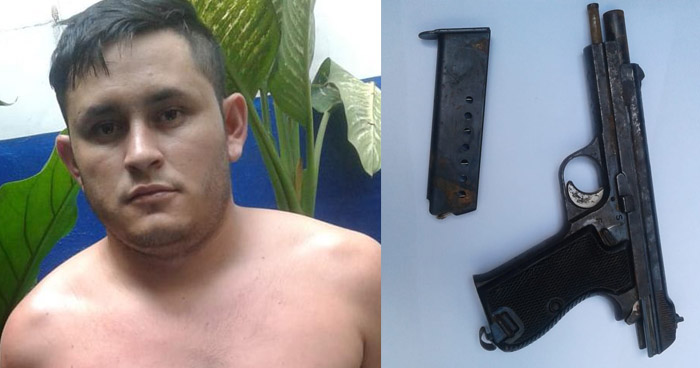 Asalto a mano armada fue captado en cámaras de videovigilancia