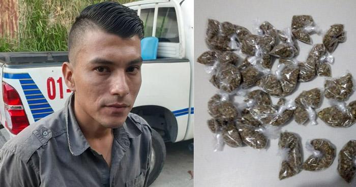 Incautan más de $2000 en marihuana a distribuidor en San Marcos - Solo Noticias El Salvador