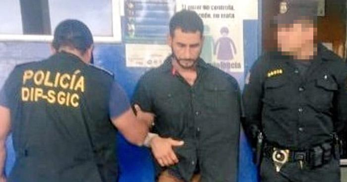 Salvadoreño capturado en Guatemala acosaba sexualmente a niña de 13 años