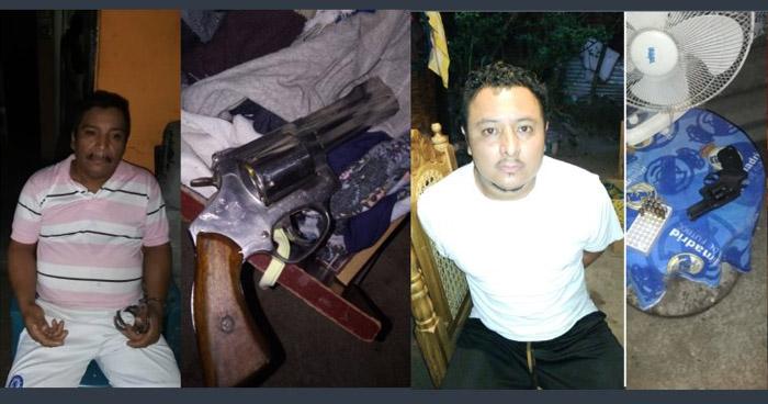 Capturados en Ciudad Delgado portaban un arma a nombre de un familiar ya fallecidos