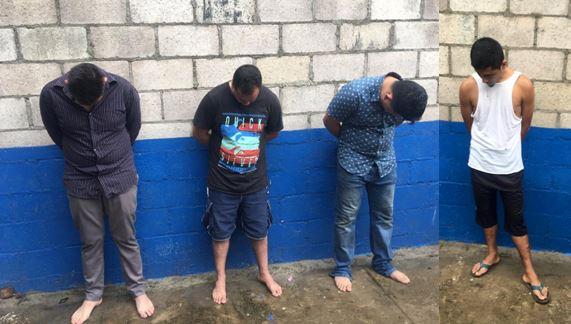 Capturan a sujetos por delitos de hurto y violación en Usulután