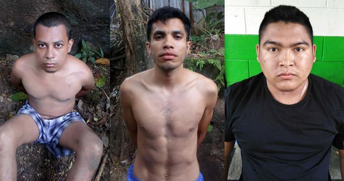 Pandilleros que distribuyan droga en Cuscatancingo, intentaron huir de la PNC pero fueron capturados