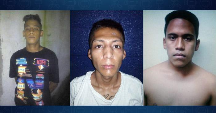 Capturados en las últimas horas por tráfico de drogas, extorsión y violación