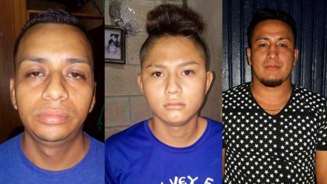 Capturan a 3 delincuentes en diferentes procedimientos en San Salvador